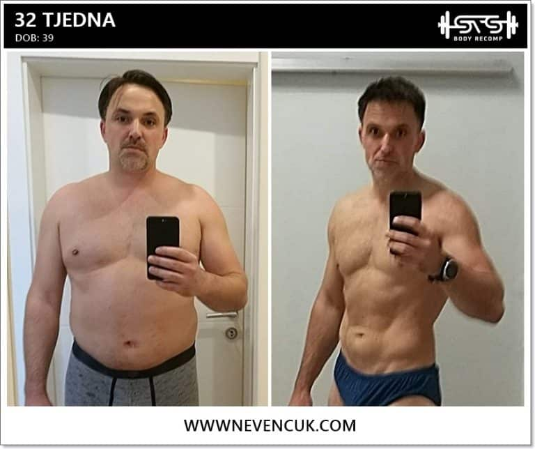 Gubitak kilograma u 46 dana