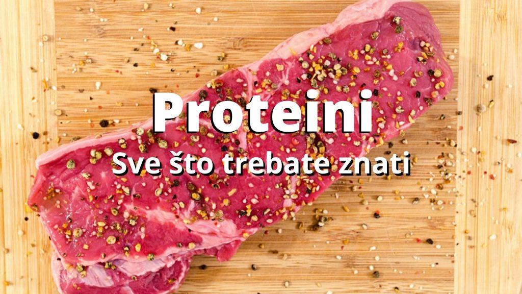 Proteini: Sve što trebate znati